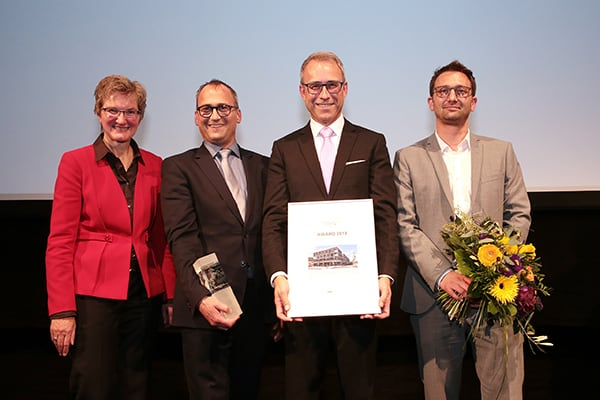 Gewinner ImmobilienAward 2019, Kategorie Kombinierte Wohnformen, Eisenbahnstrasse Fellbach