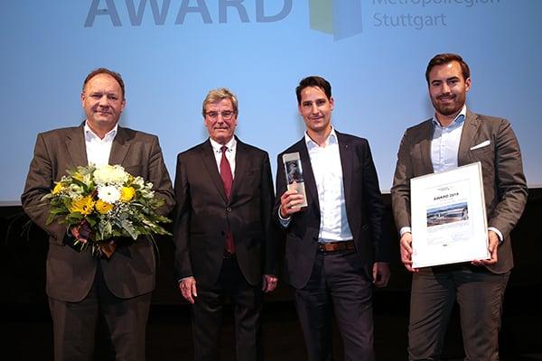 Gewinner ImmobilienAward 2019, Kategorie Gewerbe, Warendienstleistungszentrum Breuninger