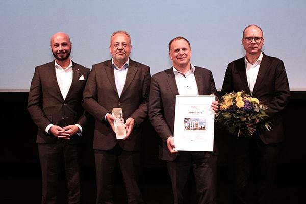 Gewinner ImmobilienAward 2019, Kategorie Wohnen, 5 effiziente Punkthäuser