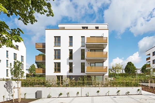 ImmobilienAward 2019, Kategorie Wohnen, 5 effiziente Punkthäuser